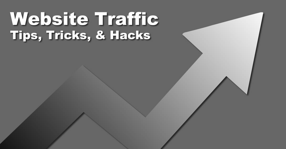 How to generate more website traffic -tips and hacks 01