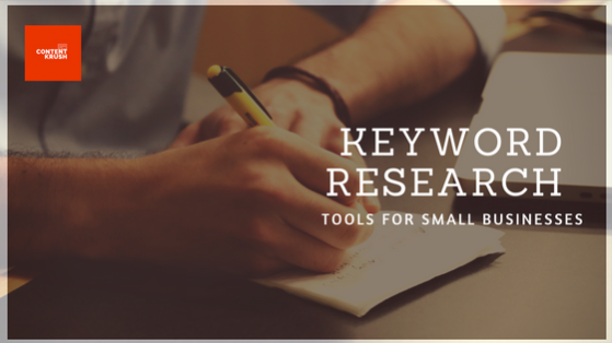 Keyword Research tools for small business