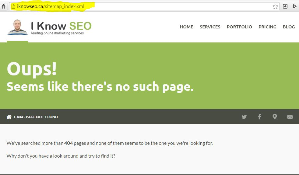 SEO tools for small business -iknowseo.ca sitemap