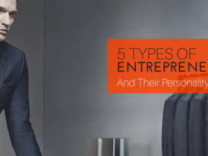 5 Types of Entrepreneurs and Their Personality Traits