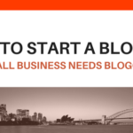 how to start a blog -why start a blog