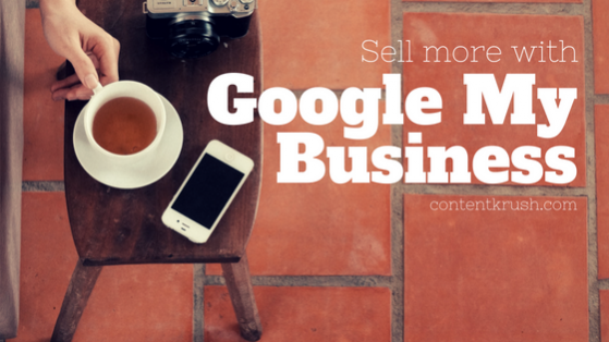 Sell more with google my business listing