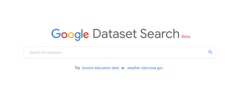 Google Dataset Search Engine Launched 001