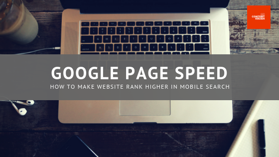 Google Page Speed 001