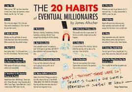 habits of millionaires -20 habits of eventual millionaires by james altucher