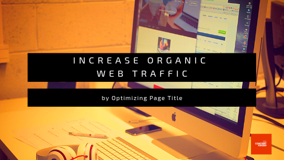 Increase Organic Web Traffic -001
