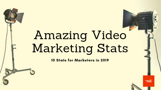 Video Marketing Stats for 2019