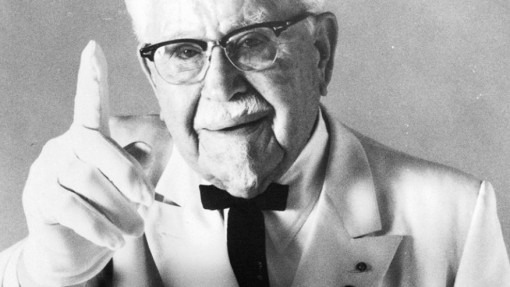 Entrepreneurs who failed -Colonel Sanders