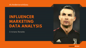 Influencer Marketing Data Analysis- Cristiano Ronaldo