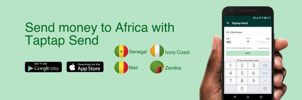 taptap-send,-a-free-remittance-transfer-service-targeting-africa,-raises-$13.4-million-series-a